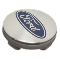 Ford 54mm ezüst felni kupak 1db
