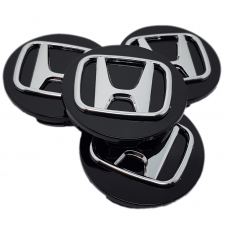 Honda 70mm fekete felni kupak 4db
