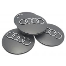 Audi 68mm ezüst felni kupak 4db