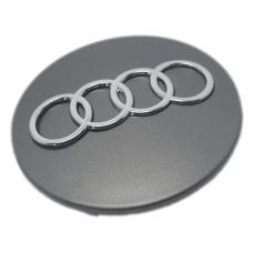 Audi 68mm ezüst felni kupak 1db