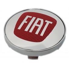Fiat 60mm ezüst felni kupak 1db