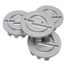 Opel 58mm ezüst felni kupak 4db
