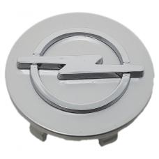 Opel 58mm ezüst felni kupak 1db