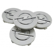 Opel 65mm ezüst felni kupak 4db