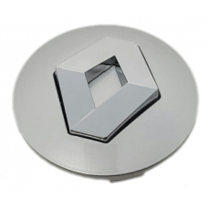 Renault 57mm ezüst felni kupak 1db