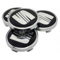 Seat 60mm fekete felni kupak 4db