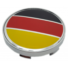 Fekete Piros sárga 60mm felni kupak 1db